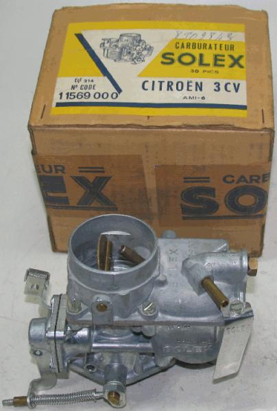 Vergaser 11569 000 Citroën - Ami 6 30 PICS